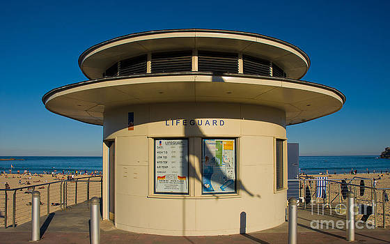 David Hill - Lifeguard station - an icon of Bondi Beach - Sydney - Australia