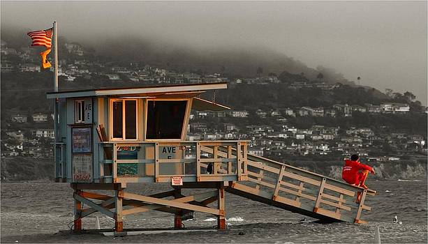 Lifeguard Tower by Peter Kotzbach