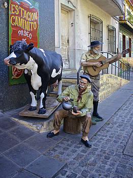 Venetia Featherstone-Witty - Lifelike Street Art In La Boca