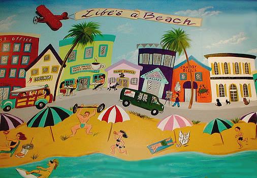 Life's a Beach by Melinda Saminski