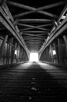 Light at the End of the Covered Bridge by Mark Van Scyoc