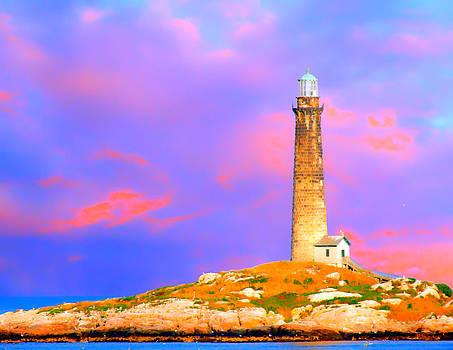 Randall Branham - Light house onThatcher Island
