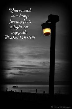Light my path by Terri K Designs