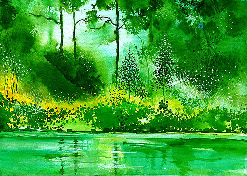 Light N Greens R by Anil Nene