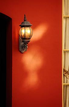 Greg and Chrystal Mimbs - Light on Wall