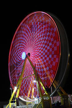 Light Painted Ferris Wheel by Gerald Murray Photography