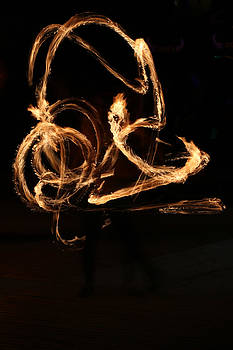 Light Painting with Fire by Gerald Murray Photography