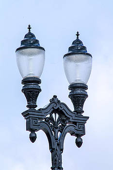 Light Post In The City by Danielle Allard