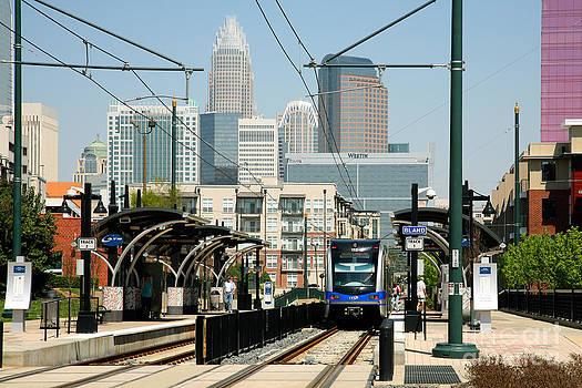 Bill Cobb - Light Rail in Charlotte