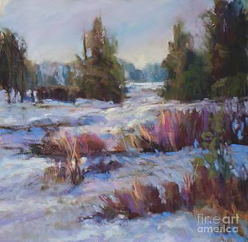 Light Snow Fall by Virginia Dauth