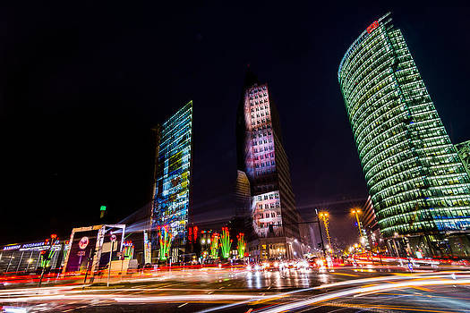 Light Up The Potsdamer Platz  by Maik Tondeur