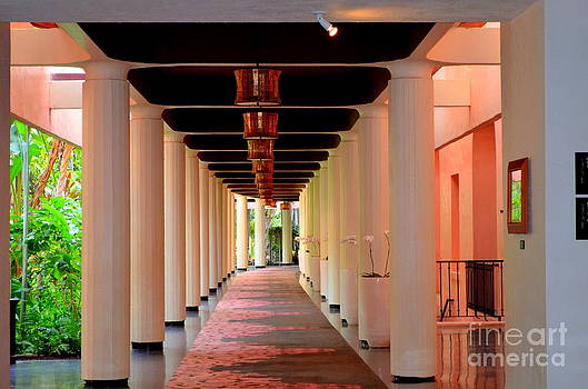 Mary Deal - Lighted Columns