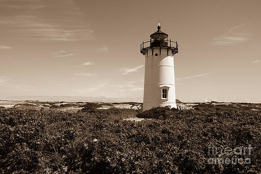 Lighthause from Race Point by Miro Vrlik