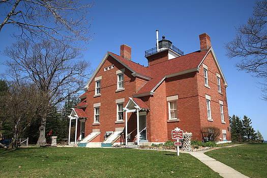 Frank Romeo - Lighthouse - 40 Mile Point Michigan
