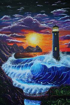 Lighthouse  by Aaron Joseph Gutierrez