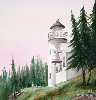 Michelle Constantine - Lighthouse at Sunrise