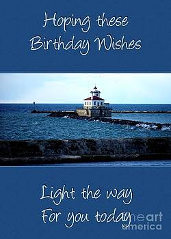 JH Designs - Lighthouse Birthday Wishes