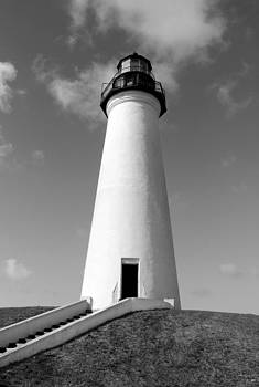 Lighthouse Black and White by Brooke Fuller