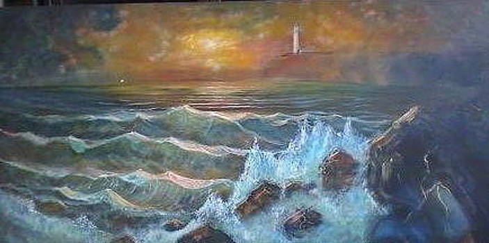 Lighthouse by Brent Vall Peterson