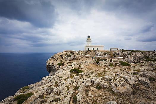 Lighthouse Caballeria by Antonio Macias Marin