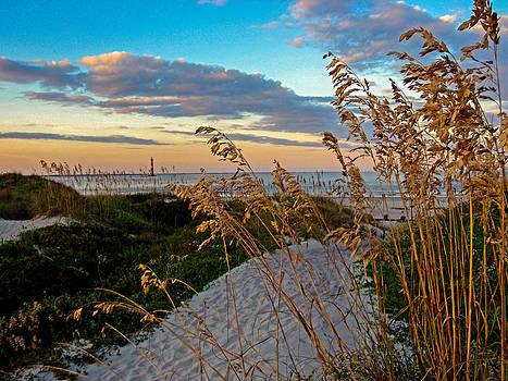Lighthouse Folly Beach by Will Burlingham