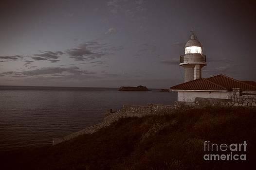 Lighthouse Gaze by Miryam  UrZa