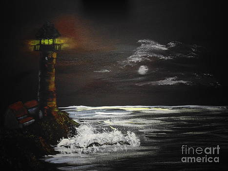 Lighthouse by Ginny Youngblood