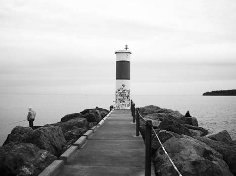 Lighthouse Graffiti by Rebecca Kowalczik