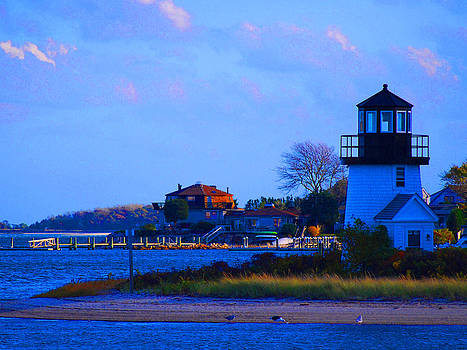 Lighthouse Hyannis by Lorena Mahoney
