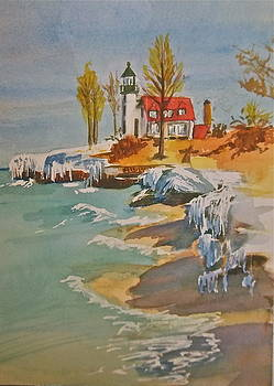 Lighthouse II by Linda L Stinson