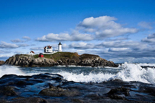 Lighthouse in Maine USA 2 by Derek Latta