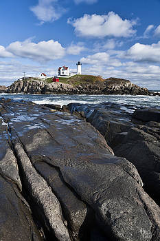 Lighthouse in Maine USA 3 by Derek Latta