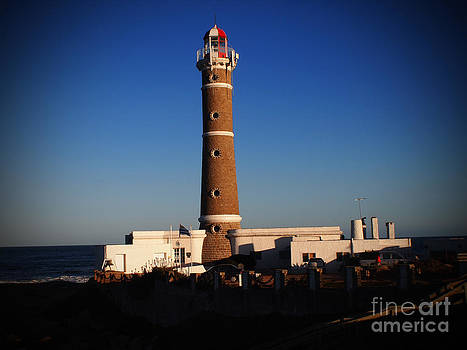 Lighthouse Jose Ignacio by Victoria Herrera
