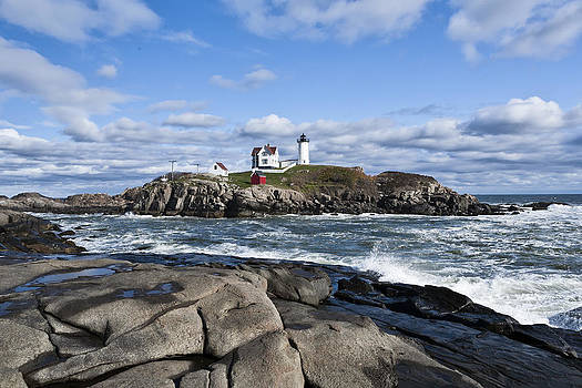 Lighthouse Maine USA by Derek Latta