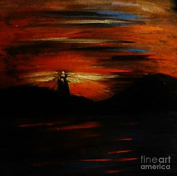 Lighthouse by Marie Bulger