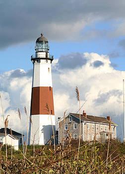 Lighthouse Montauk New York by Jack Thomas