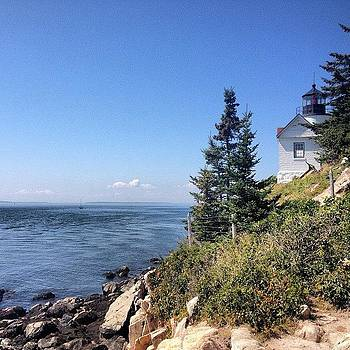 #lighthouse #ocean #view #beautiful by Megan Rudman