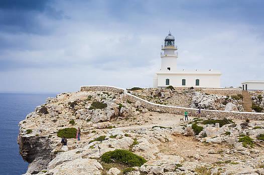 Lighthouse of Caballeria by Antonio Macias Marin