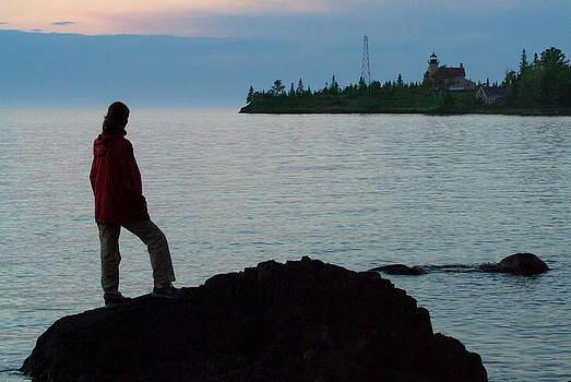 Devinder Sangha - Lighthouse of Copper Harbor