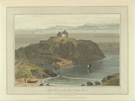 Lighthouse On The Isle Of Scalpa by British Library