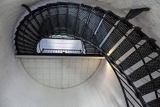 Lynn Palmer - Lighthouse Spiral Steps and Platform