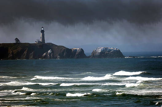 Randall Branham - Lighthouse Stormy Weather