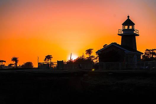 Lighthouse Sunset by Brandon McClintock