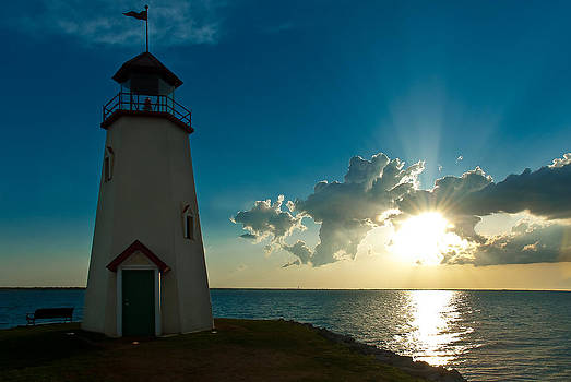 Lighthouse Sunset by Micah McKinnon