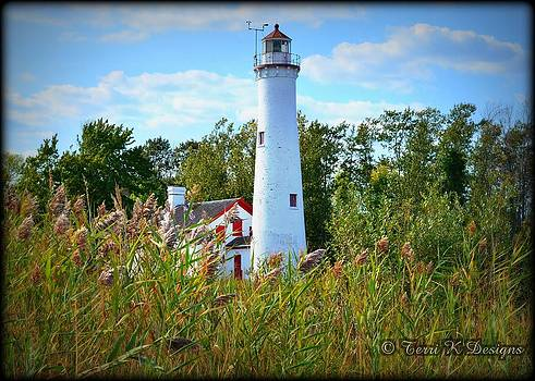 Lighthouse by Terri K Designs