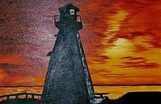 Lighthouse by Valorie Cross