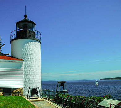 Bass Harbor Head Lighthouse by Will Burlingham
