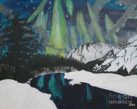 Lighting up the night by Ashley Van Artsdalen