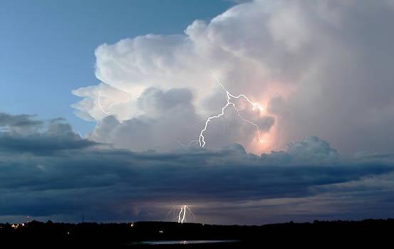 Howard Markel - Lightning at Dusk