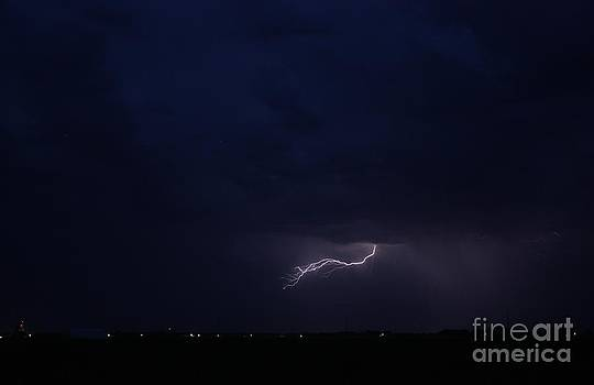 Lightning in the Sky by Robert D  Brozek